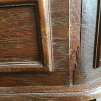 Pair of Unusual Vintage French Oak Bedside Shelf Units (7 of 9)