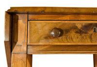 A George III Mahogany Satinwood Table (3 of 8)