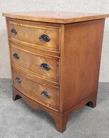 Small Mahogany Bow Front Chest In The Georgian Style / Bevan Funnell, Reprodux (7 of 8)