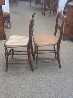 Pair of Brass Inlaid Chairs (8 of 9)