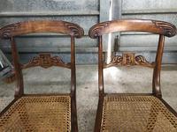 Pair of Beautiful Regency Chairs (4 of 4)