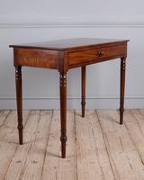 19th Century Mahogany Side Table (3 of 7)