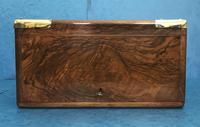 Victorian Brassbound Walnut Cigar Box (9 of 19)