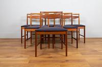 Set of 6 Mid Century Teak McIntosh Dining Chairs (2 of 12)