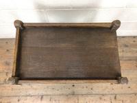Antique Oak Drinks Trolley (m-1400) (2 of 8)