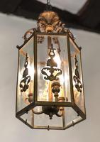 Antique French Gilt Bronze Lantern (3 of 13)