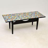 1960's Vintage Tiled Coffee Table