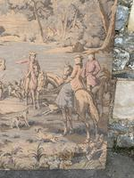 Superb 19th Century Tapestry Depicting Hunting Scene (6 of 7)