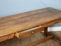 19th Century French Oak Refectory Table (4 of 6)