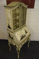 Lovely Antique Chinoiserie Bureau Bookcase (2 of 8)