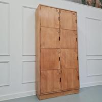 Vintage Wooden School Lockers c.1960 (4 of 5)