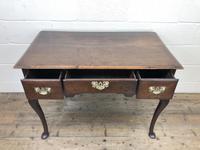 Antique Oak Lowboy Side Table (7 of 10)