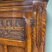 Quality Oak Antique Hall Cupboard / Wardrobe (5 of 7)