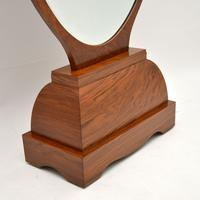 French Art Deco Walnut Free Standing Mirror (4 of 11)