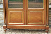 19th Century French Directoire Style Mahogany Bookcase Cabinet (4 of 11)