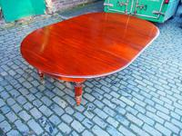 Large George IV Mahogany Dining Table by M. Willson, London (10 of 20)