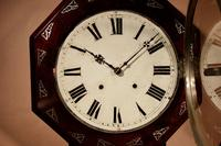 An Interesting Drop Dial American Wall Clock, Second Half 19th century. (10 of 12)
