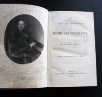 1839  1st Edition Life & Adventures of Nicholas Nickleby by Charles Dickens, Illustrated by Phiz (2 of 5)