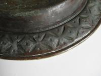 Flemish or German Brass Alms Dish 17th / 18th Century, Grapes of Canaan (10 of 10)