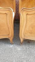 Pair of French Walnut Single Beds (5 of 17)