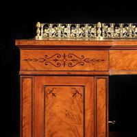 Regency pale mahogany pedestal sideboard (5 of 8)