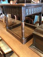 Oak Square Coffee Table (5 of 8)