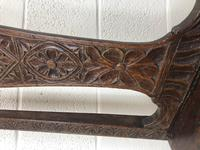 Antique Victorian Carved Oak Chair (6 of 14)