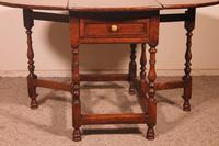 Gateleg Table in Oak -18th Century (7 of 11)