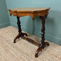 Spectacular Victorian Birds Eye Maple Occasional Table (4 of 8)