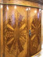 Edwardian Inlaid Satinwood Wardrobe (6 of 30)