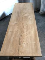 French large oak farmhouse dining table (17 of 38)