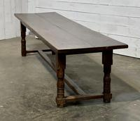 Wonderful Antique Large Refectory Farmhouse Dining Table (21 of 31)
