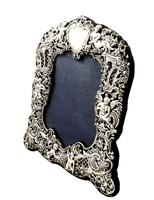 Antique Victorian Sterling Silver 'Cherubs' Photo Frame 1894 (7 of 10)