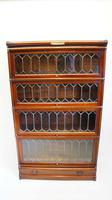 Good Quality Mahogany Globe Wernicke Sectional Glazed Bookcase (10 of 29)