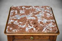 French Marble Top Bedside Cabinet 6121646 (8 of 12)