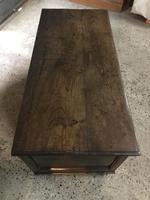 17th Century Beautiful Oak Coffer (6 of 10)