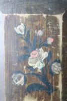 Scandinavian / Swedish 'Folk Art' Original Paint Rosmålning, Desk Timplåda / Sliding Lidded Box Gustavian, 1806 (2 of 16)
