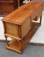 1960s Golden Oak Potboard Dresser Base - Variety of Uses (5 of 5)