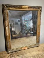 Small Antique Gilt Mirror
