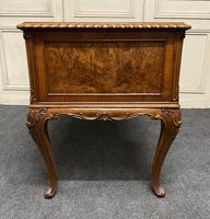Fine Quality Burr Walnut Desk (24 of 25)