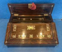 William IV Mother of Pearl Inlaid Lap Desk (14 of 15)