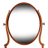 Georgian Serpentine Dressing Mirror (2 of 8)