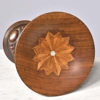 Inlaid & Carved Walnut Tazza (3 of 3)
