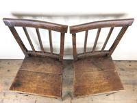 Pair of 19th Century Welsh Oak Farmhouse Chairs (3 of 12)