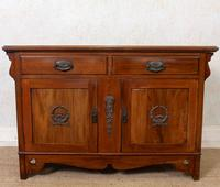 Dresser Base Arts & Crafts Walnut Sideboard 19th Century (2 of 11)