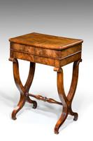 Mid 19th Century Mahogany Work Table (3 of 6)