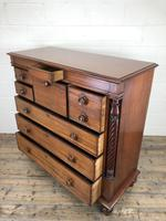 Large Victorian Mahogany Chest of Drawers (14 of 16)