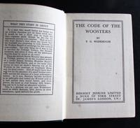 1938 1st Edition   The Code of The Woosters by  P G Wodehouse (2 of 4)