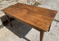 Small Antique French Elm Farmhouse Table (19 of 22)