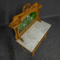 Victorian Oak Washstand (7 of 11)